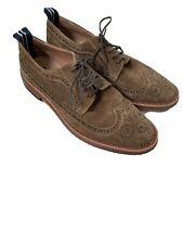 Bertie Suede Leather Brogues Size 43/UK 9