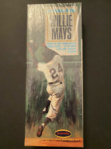 1966 Aurora Model Kit Great Moments in Sports Willie Mays SEALED Box The Catch