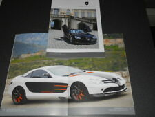 GEMBALLA Mercedes SLR McLaren brochure catalogue - édition 2016 très rare !!