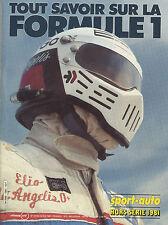 SPORT AUTO Hors Série  F1 1981