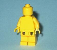 STATUE MINIFIG Lego Solid-Plain YELLOW MiniFigure NEW Genuine Lego Monochrome