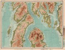Dunoon Becher Tasse  Map of the world  Weltkarte  0,5l
