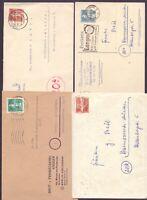 Berlin 1949 - 4 Einzelfrankaturen aus MiNr. 35/37 - Michel 110,00 € (975)
