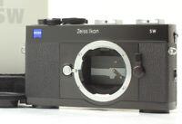 [N MINT Box] ZEISS IKON SW Black 35mm Rangefinder Film Black Film Camera Japan