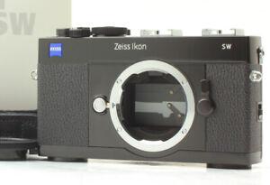 [Near MINT in Box] ZEISS IKON SW 35mm Rangefinder Film Black Film Camera Japan
