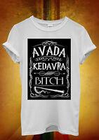 Avada Kedavra Harry Potter Funny Men Women Unisex T Shirt Tank Top Vest 65