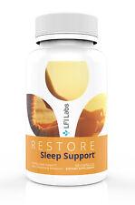 Natural Melatonin Sleep Aid Supplement – with L-Theanine | RESTORE SLEEP