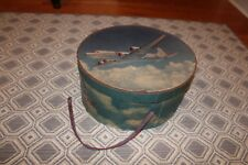 Rare Vintage 1940'S Stetson American Airlines Flagship Travel Hat Box