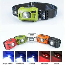 LED Head Torch Headlight Lamp CE Camping Induction Headlamp USB Rechargeable NEW