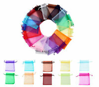 10X15cm Luxury Organza Gift Bags Wedding Party Favour Jewellery Packing Pouches