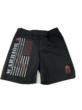 Warrior-X Gear Men's Black Mma Fight Shorts - Size 38