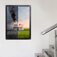 Backlit Movie Poster Art Picture Frame LED Light Box Advertising Display 33*24''