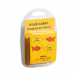 "Gold Label Pond Liner Repair Patch Small 140 x 190mm / 5.5"" x 7.5"""