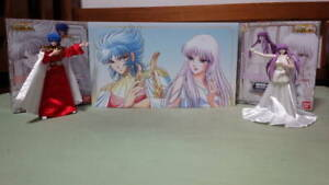 Saint Seiya Myth Cloth God Abel & Athena Memorial Exclusive Set Bandai Tamashii