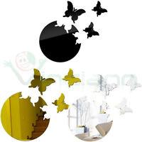 Wall Sticker adesivo Flying Butterflies 3D decorazione parete specchio farfalla