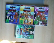 HE-MAN and the Masters of the Universe DVD Season One Vol 1+2 Season Two Vol 1+2