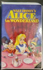 Walt Disney classic Alice in Wonderland VHS black diamond new and sealed