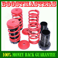 1995-1999 Mitsubishi Eclipse Red Coilover Lowering Spring Kits Adj.