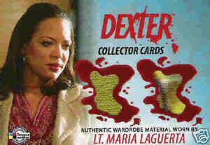 Dexter season 1-2 : Lt Laguerta's top & jacket DC17