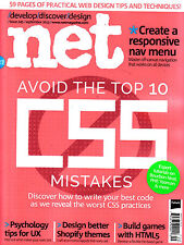 .NET Magazine September 2013 TOP 10 CSS MISTAKES Responsive nav menu SHOPIFY New