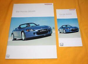 Honda S 2000 2004 Prospekt Brochure Depliant Prospetto Folder Catalog S2000