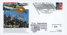 "UWS-09 FDC USA ""Afghanistan Opération Enduring Freedom - USS Enterprise"" 2001"