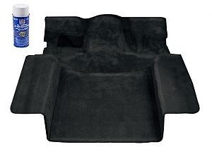 1986-1994 Suzuki Samurai Deluxe Carpet Kit Black (cut out for roll cage)