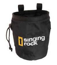 Singing Rock Chalk Bag - Fleece Lining Holder Carry Attachment for Rock Climbing