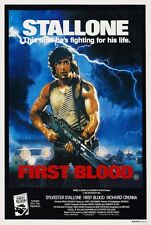 Rambo first blood Stallone cult movie poster print #2