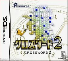 Used DS Puzzle Series Vol. 7: Crossword 2 NINTENDO JAPANESE IMPORT