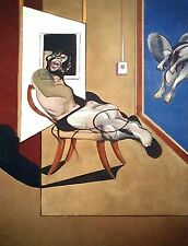 Francis Bacon, Seated Figure 1974, Hand Signed Lithograph 32/100
