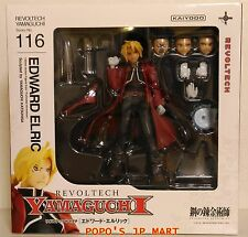 Fullmetal Alchemist Revoltech Yamaguchi Edward Elric Kaiyodo 116 action figure
