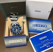 MADE IN JAPAN SUMO SBDC033 SEIKO Prospex Automatic Box & Warranty Navy Curved!