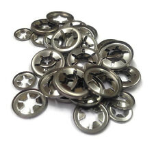 Genuine Stainless Steel Starlock Washers Metric 50 Piece Assortment