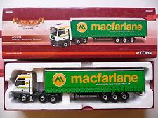 NEW - Corgi CC13429 MAN TGA - Macfarlane Transport.