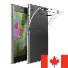 For Sony Xperia XZ1 Case - Crystal Clear Thin Soft TPU Transparent Back Cover