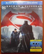 Batman v Superman El Amanecer de la Justicia (Dawn of Justice) Blu-Ray 2D 3D ABC