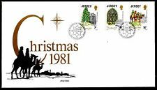 Jersey - 1981 Christmas - Mi. 270-72 clean FDC