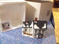 "Dept 56 Hdptd Ceramic New England Village James Mullet Amish Farm House 5 1/4"" H"