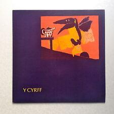 Y CYRFF - Y CYRFF * VINYL LP * RARE * MINT * CATATONIA * SFA * FREE P&P  IN UK *