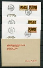 Liechtenstein no 866-867 2x FDC + 1x MK Eat-Europa-CEPT!!! (134957)