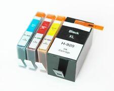 4pk Generic Ink Cartridge for HP 920 920XL HP Officejet 6000 6500 6500 Wireless