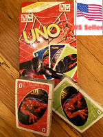 UNO Original Spider-Man Character Card Game Fast Free Shipping From US Seller