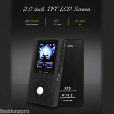 XDUOO X10 HD Lossless 2.0'' TFT LCD MP3 Player Support 2pcs micro SD card 256G