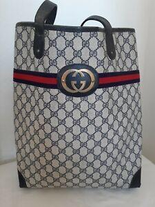 Sac Cabas Vintage Gucci Monogrammé Gucci Monogram Tote Bag