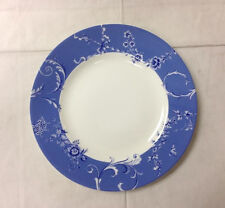 "WEDGWOOD ""HARMONY"" BLUE SALAD PLATE 8 1/8"" BONE CHINA BRAND NEW MADE IN ENGLAND"