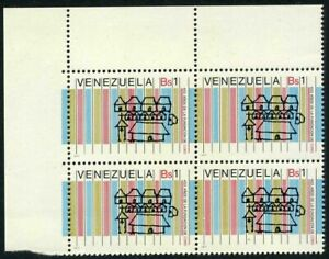 Venezuela 1166 block/4,MNH.Michel 2066. Coro,450th Ann.of founding,1977.