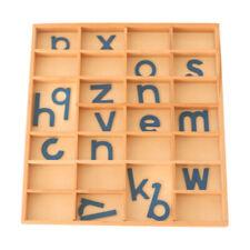 Montessori Wooden Movable Alphabets A - Z Kids Development Toy Birthday Gift