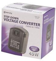 45W Step-down Voltage Converter Adaptor Transformer USA 110V to UK 230V
