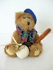"Boyds' Bear Judith G Collection Baseball Homer 1995 6 1/2"""